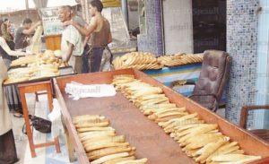 حجم الخبز