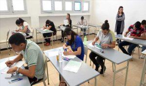 امتحان لتلاميذ الباكلوريا