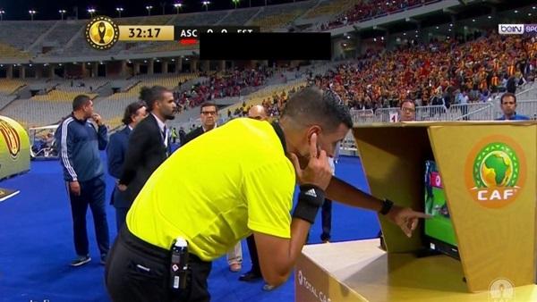 الفار لأول مرة في منافسات كأس إفريقيا للامم
