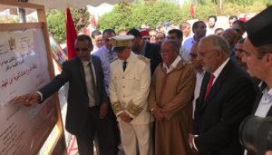 والي مراكش يعطي انطلاقة أشغال بناء ثانوية بجماعة سعادة