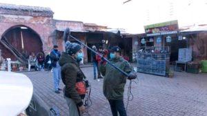 تصوير شريط سينمائي مغربي بعنوان 'المطلق' بمدينة دمنات العتيقة